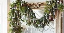 Upcycled Holiday Home Decor / A collection of DIY inspiration for upcycled budget friendly holiday decor.