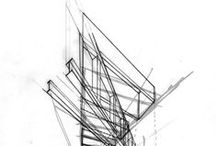 // ARCHITECTURE HAND DRAWINGS //
