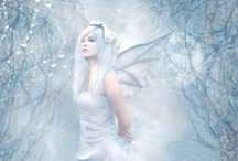 Fairies, Elves,Angels.... / by Pascale