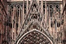 ARCHITECTURE - Churches Temples  Cathedrals  Mosques / by Diane Oakley