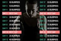 30 day challenges / Health and fitness challenges