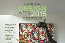 London Design Week 2015 / 8th - 13th March 2015.  The Design Centre, Chelsea Harbour.  What a great week it was with the successful launch of our new, real metal finish doors.