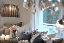 Elements to cosy up a home