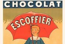 Antique Chocolate Advertising / Turn of the century advertising.  Delicious Kitchen decor!