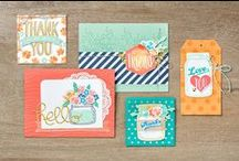 2016-2017 Stampin' Up! Catalog / Ideas from the NEW 2016-2017 Annual Catalog from Stampin' Up! and other stampers.