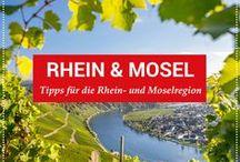 Urlaub Rhein & Mosel / In engen Schleifen zieht sich die Mosel von Trier bis nach Koblenz, wo sie in den Rhein fließt. Dabei sind die kleinen Städtchen an ihrem Flusslauf wie geschaffen für einen Kurzurlaub.