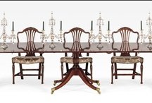 Dining Tables and Chairs to Impress! / Have a look at our Georgian antique dining tables and chair sets. Showstopping, for those who want the best.