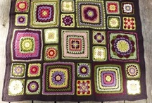 crocheting ideas - squares