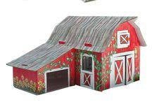 Pappershusritningar / paper house