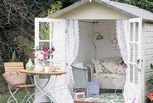 Friggebodar / garden houses