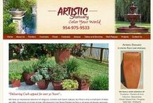 wordpress website artistic statuary / mobile friendly responsive website http://artisticstatuary.com