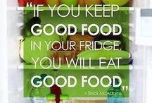 Diet / About weight loss and better choices. You will not loose weight if you starve.   Eat! / by Inge Kranner