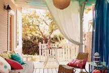 Altan / veranda / porch / balcony