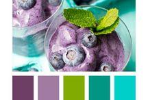 Matcha och blanda färger / Match and mix colors
