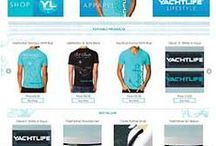 e commerce website your yachtlife / e commrece website designed and programmed using osCommerce by eva gustafsson