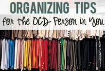 Organization Tips! / Tips and tricks to help you stay organized!