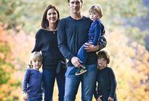 Family lifestyle photo shoot / Inspirational family poses