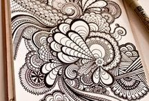 Zentangle & mandalas