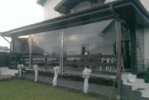 inchidere terasa / sisteme de inchidere pentru terasa cu plastic transparent. #ideas2015, #wintertips, #outdoorshading
