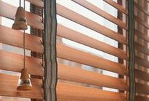 Wooden venetian blinds / Our collection of wooden venetian blinds