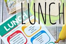 School Lunch ideas / Ideas for packing school lunch.  Help kids pack their own lunch.  Tons of ideas for different easy lunches every day.