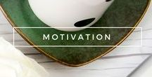 Embrace   Motivation / Motivational and inspirational quotes, tips, and books. Pretty much anything that makes us feel good about the world and ourselves.