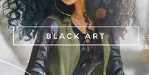 Embrace   Black Art / Beautiful art of Afro and Black women. Because black art is beautiful.