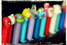 "PEZ / ""You're not famous until they put your head on a Pez dispenser"" / by LauraH"
