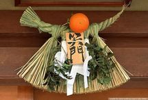 Oshōgatsu お正月 (Japanese New Year) / Officially beginning on the first day of January, New Year's is the largest annual festival in Japan, celebrated with traditional customs, decorations, foods and ceremonies. / by LauraH