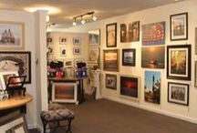 Happening In The Gallery / We do more than sell fine art.  Come in for a visit.