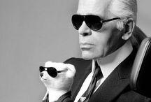 Karl Lagerfeld / by Nicole Hogenboom