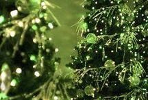 Christmas - Green / Natale Verde / by Alda Carla Sirombo