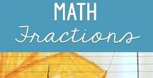"Math: Fractions / Activities for teaching ""parts of a whole"" or math fractions to second, third and fourth grades. Students can develop a solid understanding of fractions."