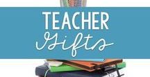 Teacher Gifts / Great gifts for your child's teacher.  Don't know what to get?  Take a look at these gifts that the teacher in your life will love!