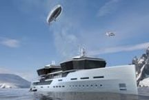 Superyacht / designed by Impossible Productions Ink LLC New York
