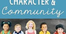 Classroom Character / Develop a classroom community. Get to the root of behavioral issues by building up key skills and strategies that all learners need to be successful, including kindness and respect. Community ideas that also include parent and family connections.
