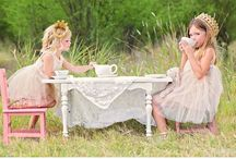annual tea party / classy and elegant