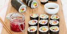 Asian-Inspired Vegan Recipes / Everything's Asian inspired, all vegan and all delicious! Healthy | stir fry | sushi | tofu