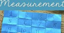 Math: Measurement & Geometry / Measurement and geometry ideas and resources for elementary students.  Includes shapes, time, money, and unit measurement.