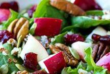 vegan Salad and Dressing Recipes / Fresh, crisp vegan salads and dressings!