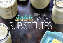 vegan Tips & Substitutes / Compiled of vegan tips, tricks, and substitutes to help make cooking easier.