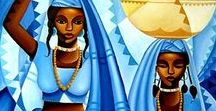 Mystical, Spiritual, Religious Art / Female divinity in all its forms
