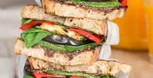 vegan Sandwich Recipes / Anything vegan and healthy you can stuff between 2 pieces of bread!!  Some of the best vegan sandwiches around!