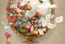 weird Alice in Wonderland images
