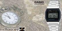 Ανδρικό Ρολόι Silver Casio / Ανδρικό Ρολόι Silver Casio