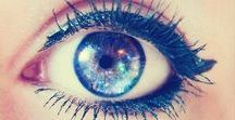 Windows to the soul... / Beautiful and rare eye colours...