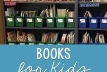 Books for Kids / Books for elementary students.  Classroom read alouds and age appropriate books for kids.