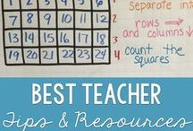 Best Teaching Tips & Resources / The best teaching tips and resources for your elementary classroom.