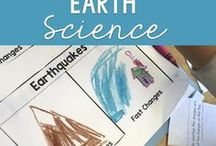 Science: Earth Science / Earth Science teaching ideas and teaching resources for elementary teachers.  Great ideas for earthquakes, volcanoes, geology, rocks and minerals.