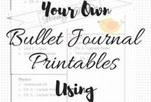 Printables for Planning and Organization